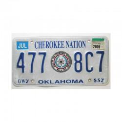 Plaque d Immatriculation USA - Oklahoma ( 478 )