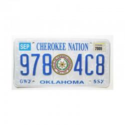 Plaque d Immatriculation USA - Oklahoma ( 479 )