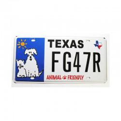 Plaque d Immatriculation USA - Texas ( 481 )