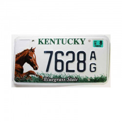 Plaque d Immatriculation USA - Kentucky ( 487 )