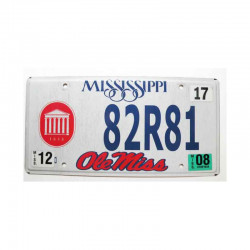 Plaque d Immatriculation USA - Mississippi ( 1047 )