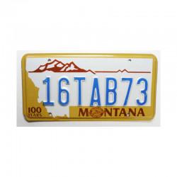 Plaque d Immatriculation USA - Montana ( 727 )