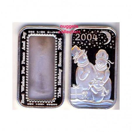 Lingot d argent 2004 31 grammes - USA