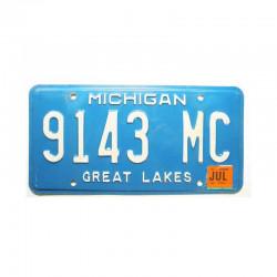 Plaque d Immatriculation USA - Michigan ( 505 )