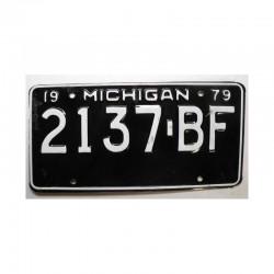 Plaque d Immatriculation USA - Michigan ( 504 )