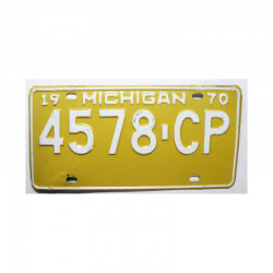 Plaque d Immatriculation USA - Michigan ( 502 )