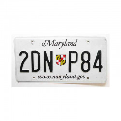 Plaque d Immatriculation USA - Maryland ( 495 )