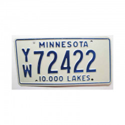 Plaque d Immatriculation USA - Minnesota ( 494 )