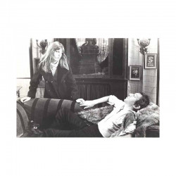 photo originale de Serge Gainsbourg  et Jane Birkin ( BIX )