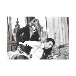 photo originale de Serge Gainsbourg  et Jane Birkin ( BIW )