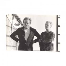 photo originale de Jean Seberg et Ugo Tognazzi ( BJW )