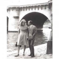 photo originale de C. Aznavour, S Hampshire ( BNP )