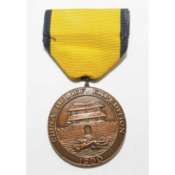 Decoration / Medaille USA China Expedition ( 080 )