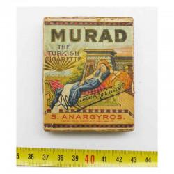 Paquet de cigarettes Murad Vide WWI ( 020 )