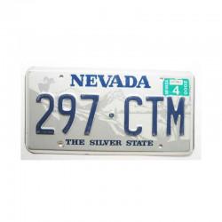 Plaque d Immatriculation USA - Nevada ( 523 )