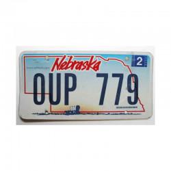 Plaque d Immatriculation USA - Nebraska  ( 520 )