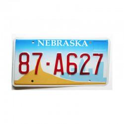 Plaque d Immatriculation USA - Nebraska  ( 519 )