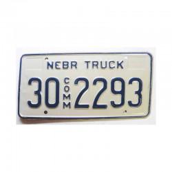 Plaque d Immatriculation USA - Nebraska  ( 518 )