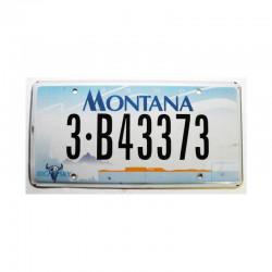 Plaque d Immatriculation USA - Montana ( 512 )