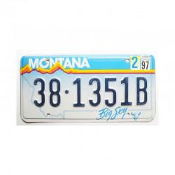 Plaque d Immatriculation USA - Montana ( 511 )