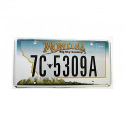 Plaque d Immatriculation USA - Montana ( 510 )