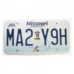 Plaque d Immatriculation USA - Missouri ( 506 )