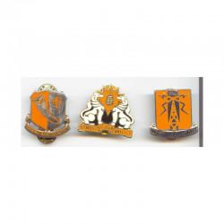 Lot de 3 insignes distinctives USA ( 099 )