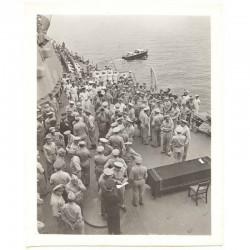 WWII Photo la reddition des Japonais 1945  ( 027 )