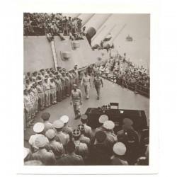 WWII Photo la remission des Japonais 1945  ( 028 )
