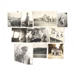 10 photos 38° Div US Camp de Shelby WWII ( 050 )