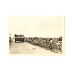 WWII Photo 40 ° Division Americaine aux Philippines  ( 146 )