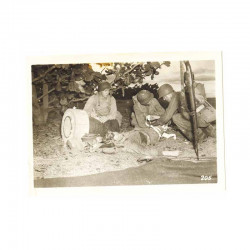 WWII Photo 40 ° Division Americaine a Hawaii  ( 139 )