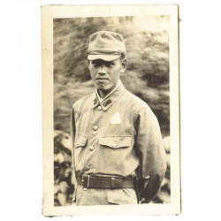 WWII Photo de soldat Japonais - guerre de Chine ( 169 )