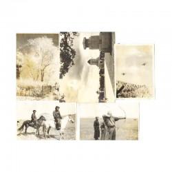 5 Photos de soldat Japonais - guerre de Russie WWII ( 177 )