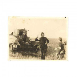 WWII Photo de soldat Japonais - guerre de Russie ( 183 )