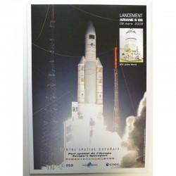 Poster officiel Ariane 5 Lancement du 09 mars 2008