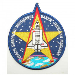 Patch vintage Original Nasa Colombia  STS-052 ( 061 )