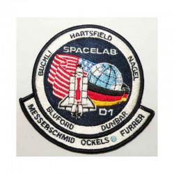 Patch vintage Original Nasa Shuttle Challenger STS-61 A ( 060 )