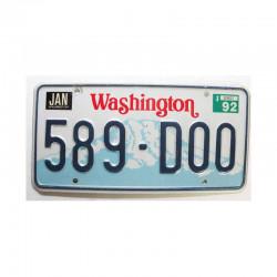 Plaque d Immatriculation USA - Washington  ( 525 )