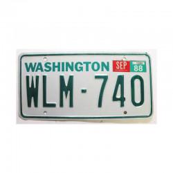 Plaque d Immatriculation USA - Washington  ( 547 )