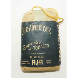 Sac a tabac avec tabac Our Advertiser WWII ( 027 )