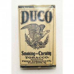 Paquet de tabac avec tabac Duco WWII ( 026 )