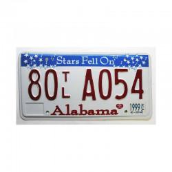 Plaque d Immatriculation USA - Alabama ( 565 )