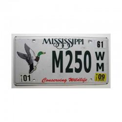 Plaque d Immatriculation USA - Mississippi ( 563)