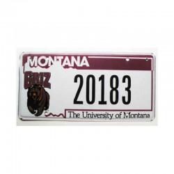 Plaque d Immatriculation USA - Montana ( 559 )