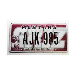Plaque d Immatriculation USA - Montana ( 558 )