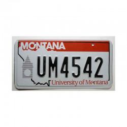 Plaque d Immatriculation USA - Montana ( 557 )