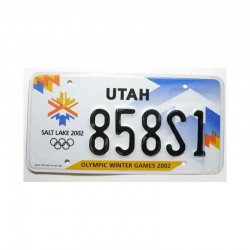 Plaque d Immatriculation USA - Utah ( 553)