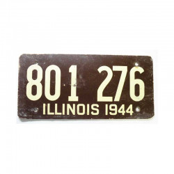 Plaque d Immatriculation USA - Illinois ( 620 )
