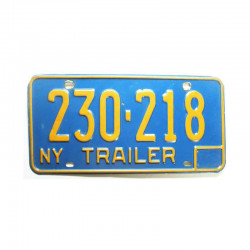Plaque d Immatriculation USA - New York ( 595 )